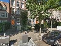Ambulance naar Valeriusplein in Amsterdam