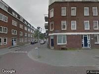 112 melding Brandweer naar Stokroosstraat in Rotterdam vanwege waarnemen gaslucht