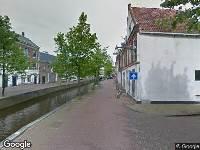 Brandweer naar Weaze in Leeuwarden vanwege verkeersongeval