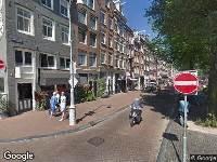 112 melding Ambulance naar Elandsgracht in Amsterdam