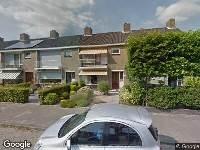 112 melding Ambulance naar Eikenlaan in Dordrecht