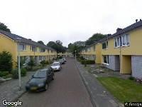 112 melding Ambulance naar Van Voorststraat in Waalwijk