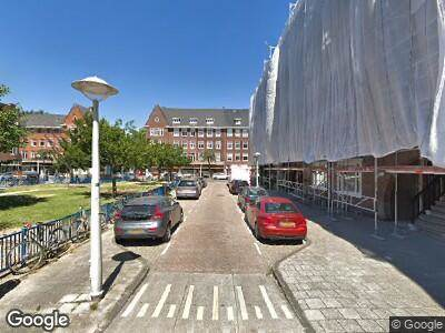 Ambulance naar Legmeerplein in Amsterdam