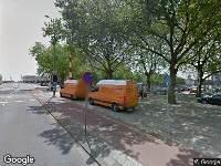 112 melding Ambulance, brandweer en politie naar Feijenoordkade in Rotterdam vanwege personen te water