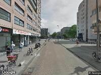 112 melding Politie naar Hoogstraat in Rotterdam vanwege ongeval met letsel