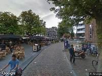 112 melding Brandweer naar Neude in Utrecht