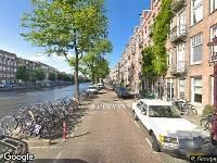 Ambulance naar Derde Kostverlorenkade in Amsterdam