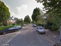 112 melding Ambulance naar Vrijburglaan in Overveen vanwege verkeersongeval