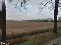 112 melding Politie naar Wittedijk in Deurne vanwege ongeval met letsel