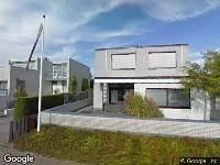 112 melding Ambulance naar Tjalk in Alphen aan den Rijn