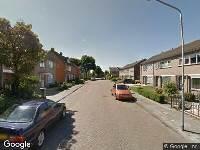 112 melding Brandweer naar Pastoor van Dunstraat in Goirle