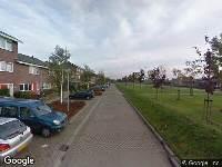 Brandweer naar Kurt Schwittersplantsoen in Almere