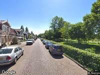 112 melding Ambulance naar Leeuwarderweg in Amsterdam