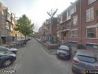 112 melding Brandweer naar Reinwardtstraat in Amsterdam
