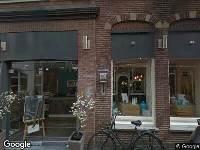 Ambulance naar Nobelstraat in Haarlem