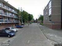 Ambulance naar Chinese tuin in Rotterdam