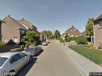112 melding Brandweer naar Valderenstraat in Geleen