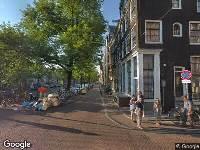 Ambulance naar Reestraat in Amsterdam