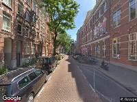 112 melding Ambulance naar Da Costastraat in Amsterdam