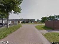 112 melding Brandweer naar Mangaanweg in Heerenveen vanwege brand