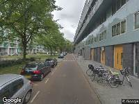 Ambulance naar Willy Sluiterstraat in Amsterdam