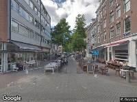 Ambulance naar Eerste Sweelinckstraat in Amsterdam