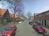 112 melding Ambulance naar Willem Marisstraat in Dordrecht