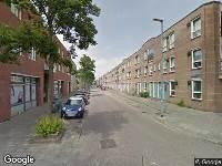 Ambulance naar Utenhagestraat in Rotterdam
