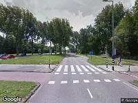 Ambulance naar Groene Kruisweg in Rotterdam