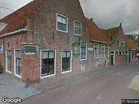 Brandweer naar Dijkstraat in Franeker