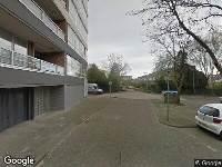 112 melding Ambulance naar Kapitein Stamperiusflat in Zwijndrecht