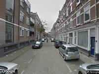 112 melding Ambulance naar Bajonetstraat in Rotterdam