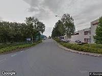 112 melding Brandweer naar Souvereinstraat in Oosterhout