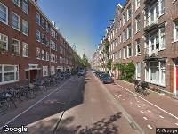 Ambulance naar Rombout Hogerbeetsstraat in Amsterdam
