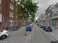 112 melding Ambulance naar Gaffelstraat in Rotterdam