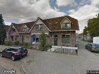 112 melding Ambulance naar Fellenoordstraat in Breda