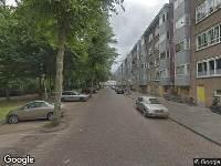 Ambulance naar Sinjeur Semeynsstraat in Amsterdam
