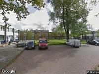 112 melding Brandweer naar Robinsonstraat in Leeuwarden