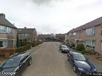 112 melding Ambulance naar Peppellaan in Oud-Alblas