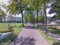 112 melding Brandweer naar Prins Bernhardweg in Oranjewoud vanwege verkeersongeval