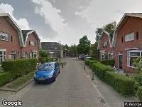 112 melding Brandweer naar Auke Stellingwerfstraat in Leeuwarden vanwege waarnemen gaslucht