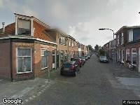 112 melding Ambulance en brandweer naar Voorzorgstraat in Haarlem vanwege brand
