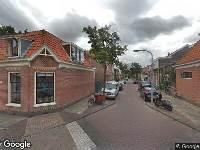 Ambulance naar Eendrachtstraat in Haarlem