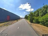 112 melding Brandweer naar Valreep in Amsterdam vanwege brand