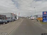 Brandweer naar Jupiterweg in Leeuwarden