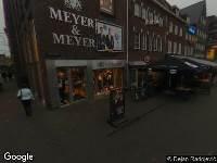 Brandweer naar Oude Markt in Venlo