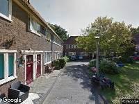 Brandweer naar Wognumerstraat in Amsterdam
