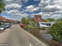 Politie naar Kadoelenweg in Amsterdam vanwege huisvredebreuk