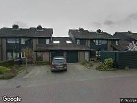 112 melding Ambulance naar Zwaluwenburg in Dordrecht