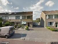 112 melding Ambulance naar Verhulstlaan in Tilburg